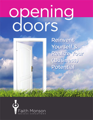 Faith Monson's Book Opening Doors