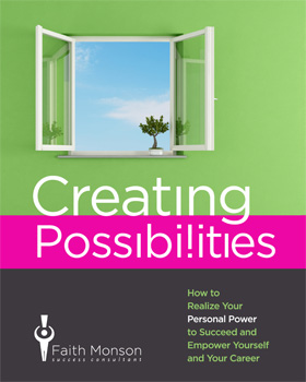 Preview Faith's e-Book Creating Possibilities