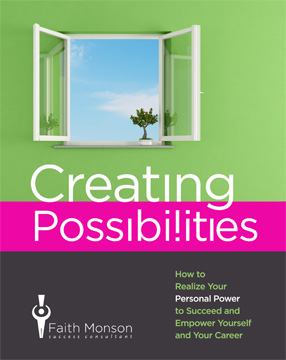 Faith�s Newest Book Creating Possibilities